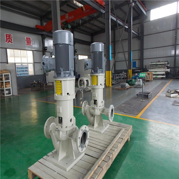 Chemical and petrol chemical area Vertical single stage pump