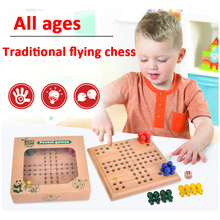 Kerstcadeaus <span class=keywords><strong>Ludo</strong></span> Game Met Houten Chinese Checkers Game Kids Educatief Speelgoed Set houten <span class=keywords><strong>ludo</strong></span> board game