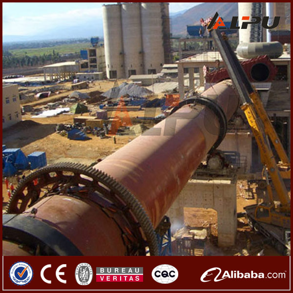 High Efficient Mini Small Gypsum Lime Cement Processing Rotary Kiln Price