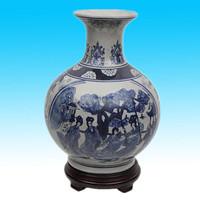 porcelain flower antique chinese ceramic vase for sale
