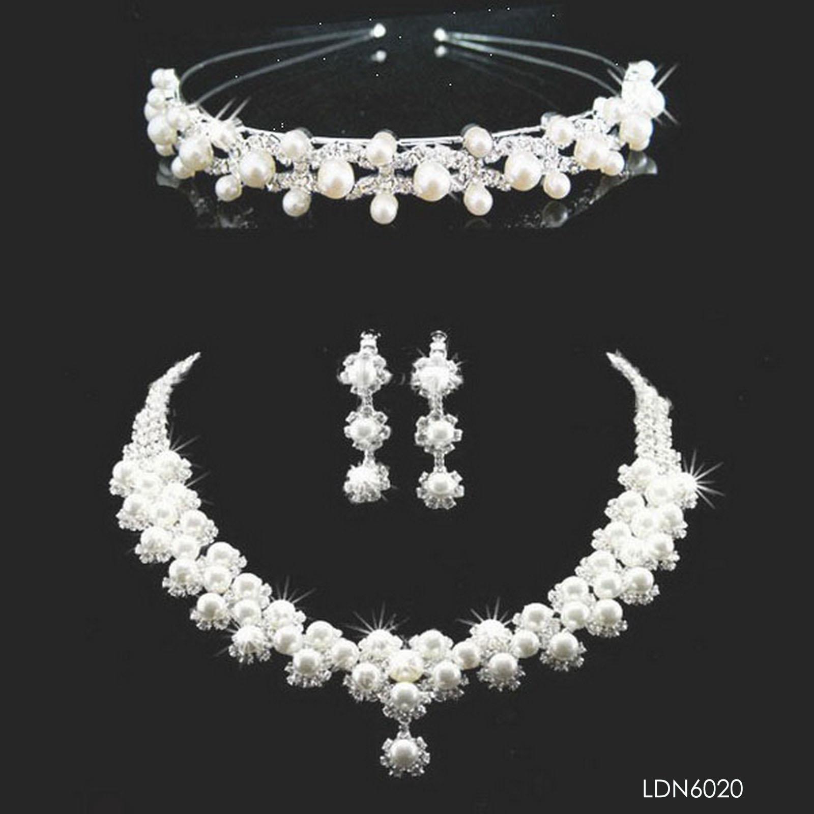 Dubai Gold Jewelry Set Wedding Jewellery Designs Pearl Beads