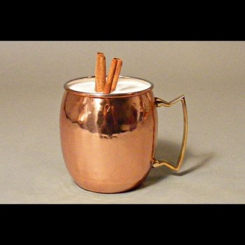 hammered canister candle mini candle cup with red copper plated vodka cocktails mule mug - Copper Mule Mugs
