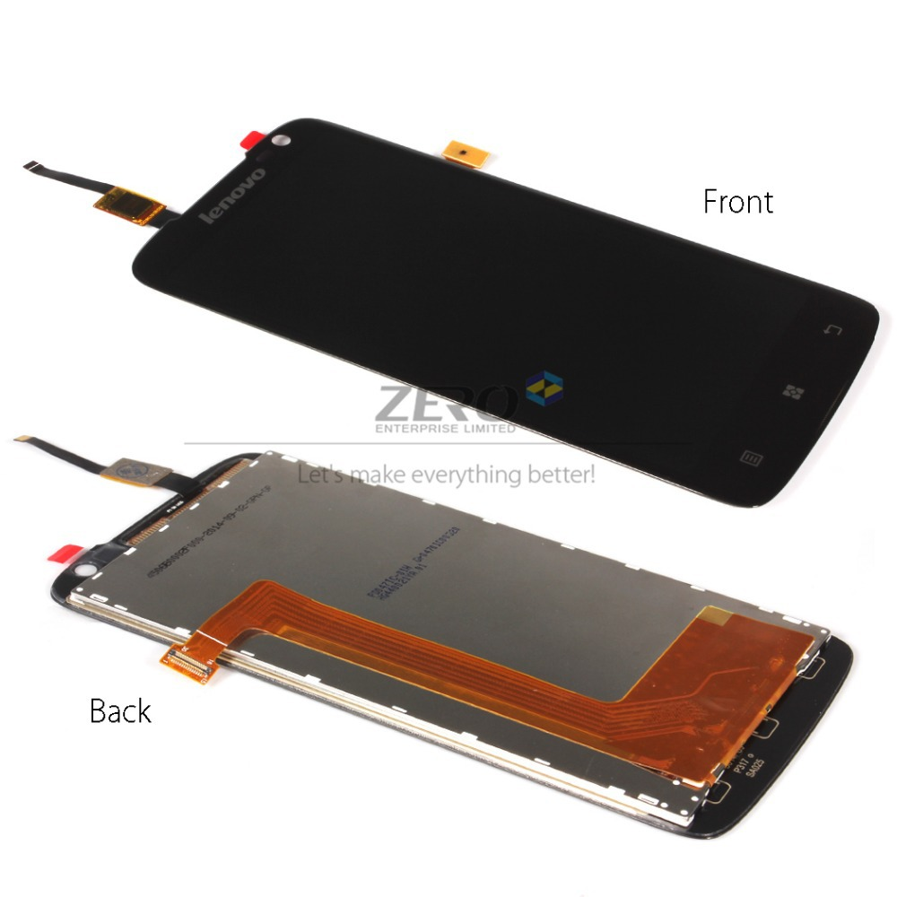 for Lenovo S820 LCD Touch Screen Digitizer Display Flex Cable Connector Assembly Replacement Parts for Lenovo S820