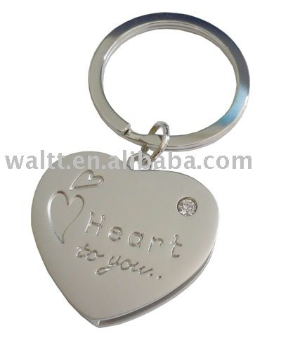 Lover Heart Shape Wedding Gift keyring/keyholder/keychain