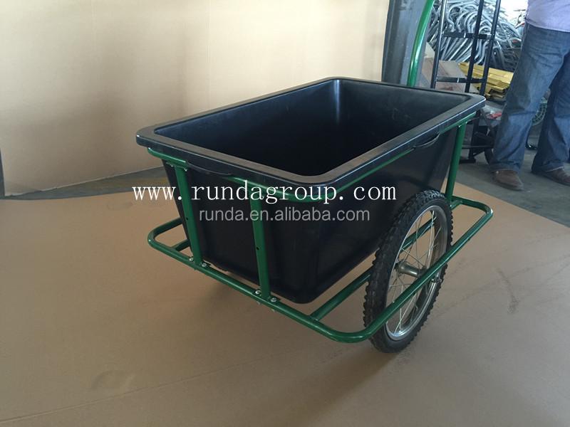 Bicicleta de carga del remolque remolques carro de golf for Carretilla dos ruedas mano