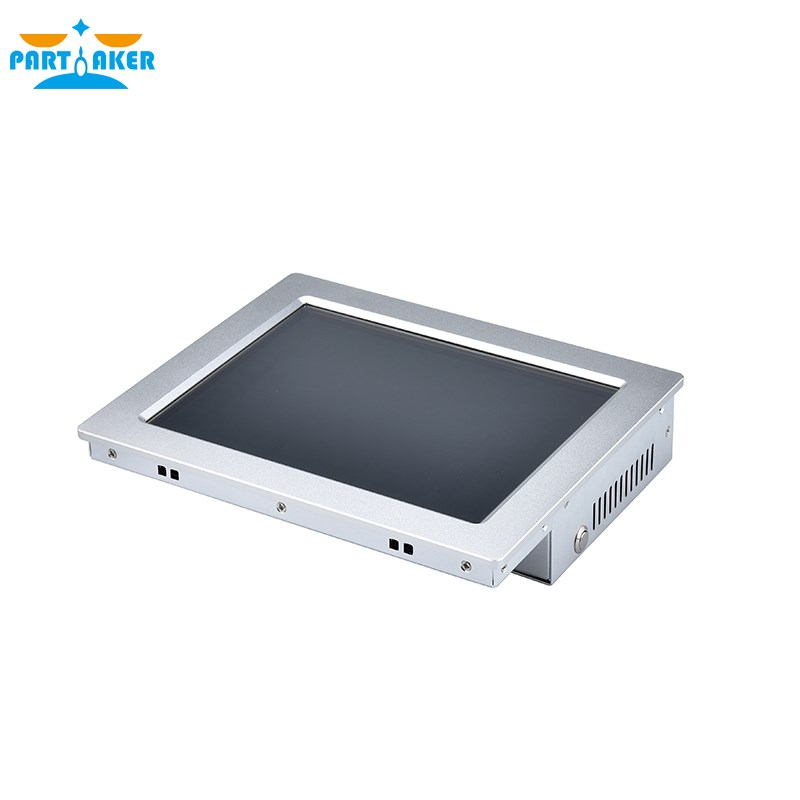 Partaker Elite Z3 9.7 Inch Taiwan High Temperature 5 Wire Touch Screen Intel Atom N2600 OEM Fanless All In One Pc With 2 Nics