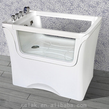 luxury SPA pet bubble bath tubs dogs bathtub for dog grooming