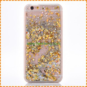 3D Shining Glitter Stars Liquid Quicksand Pc+Tpu Mobile Phone Case For Iphone 7 plus