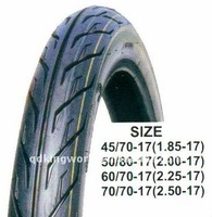 60/70-17 motorcycle tires