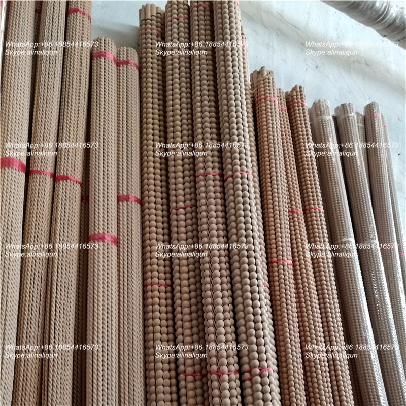 Craft Wood Decorative Furniture Moulding Half Round Rope Molding