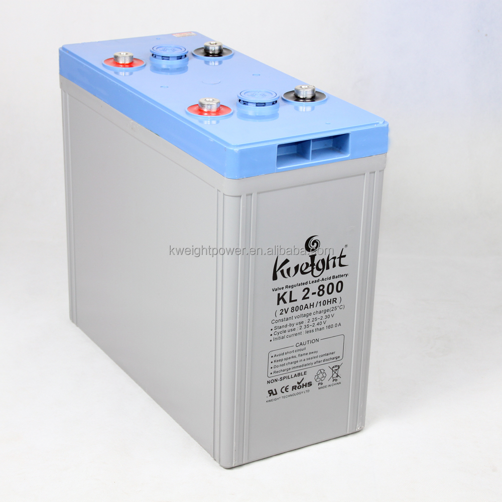 2v 200ah 500ah 800ah Kweight Battery For Solar Power Battery