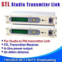 FMUSER STL10 Studio to mini usb car speaker for FM Radio Station 10-40km Studio to Transmitter Hill-RC4