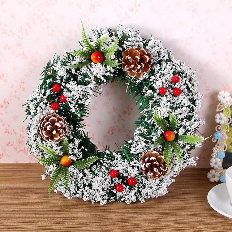 Wholesale Christmas Festival Wreath with Decorate