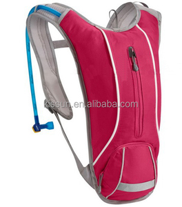 2L water bladder hydration pack with bladder water , waterproof nylon cycling backpack