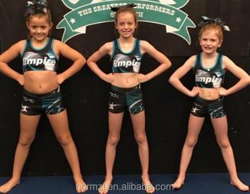 b4a2b284ab Custom Sublimated Cheerleading Training Cheer Sports Bra Cheerleader Shorts  - Buy Cheerleading Training Wear