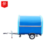 CE OEM gas/electric mobile street ice cream fast food vending trailer/cart popcorn truck/kitchen coffee van/kiosk for sale