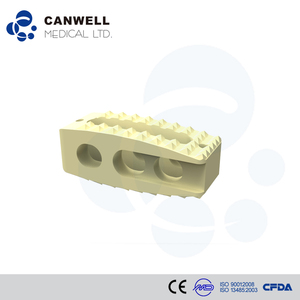 Canwell Orthopedic Implants CanPEEK medical spine fusion peek cage plif instruments