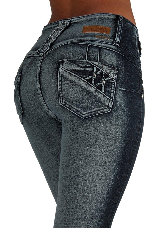 28795a0dc90 Get Quotations · LA BONITA JEANS Style LA6A154aS – Colombian Design