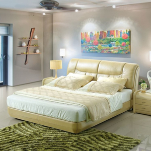 Bedroom furniture king size queen platform inexpensive cheap bed for sale bed with headboard