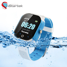 Gps tracking wrist band toy kids tracking watch phone with cell tracker app Android IOS