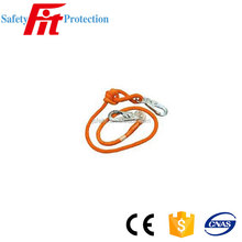 Safety Lanyard Adjustable Double Braided Rope With Locking Snaps