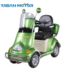 50-60 range One person driving 4 wheel Electric scooter moped car for elderly