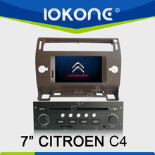 "2005-2009 factory 7"" HD Touch screen citroen c4 picasso car dvd player with TMC, camera, mic, dvb-t"