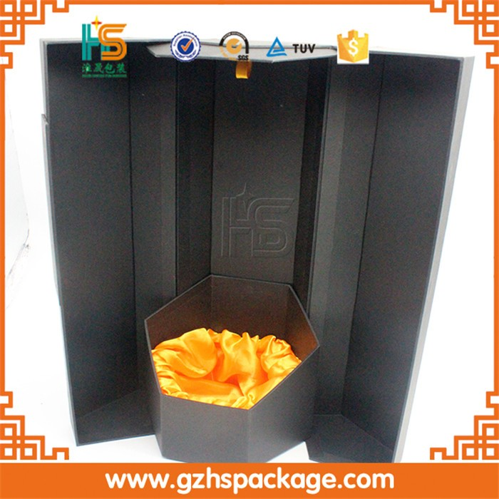 Wholesale Exclusive Cardboard Single Printing Wine Box With Magnet