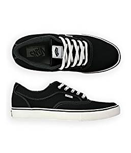 c39cbc5f3f12 Get Quotations · Vans Mens Mirada Twill Sneakers Blackwhite 6.5 by Vans