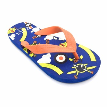 d663951c9c5c Cute colorful printing kids new fashion flip flops sandals EVERTOP 2019  design cheap wholesale kids slippers