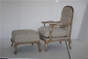 Antieke Lounge Stoel.Antieke Houten Meubels Franse Stijl Hout Ottoman Kind Meubilair