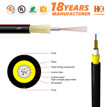 outdoor single loose tube fibras optic cable optical fiber cable JET