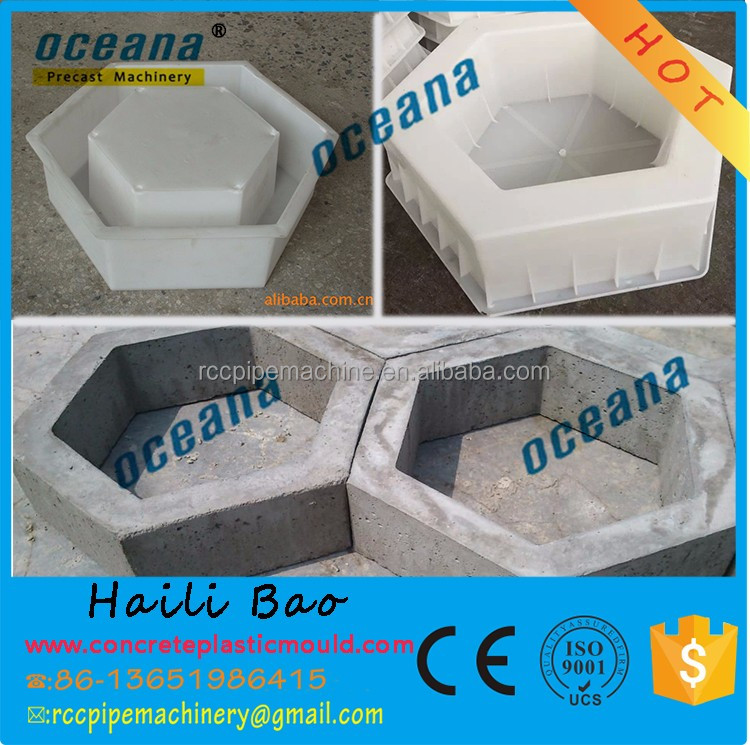 OEM Manufacturing interlocking bricks mould / grass brick mould / garden concrete paving <strong>molds</strong>