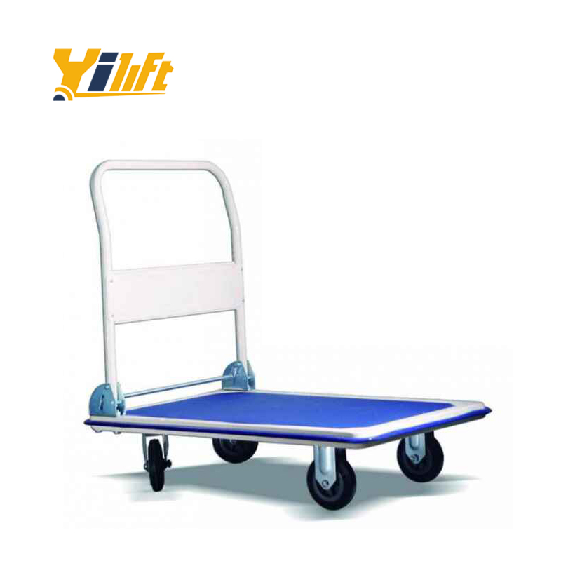 High hand trolley to foldable cost industrial trolley cart