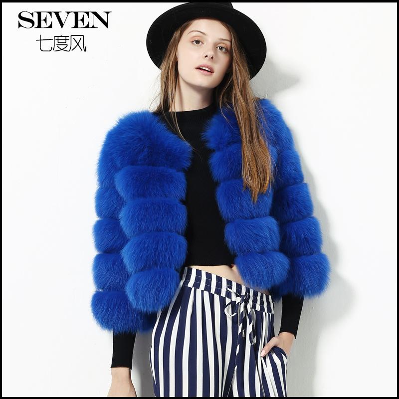 Free shipping 2016 new font b winter b font real fox fur coat imported hotsale fashion