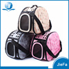 Hot Selling Foldable EVA Print Pet Carrier Dog hand Bag Pet Travel Bag