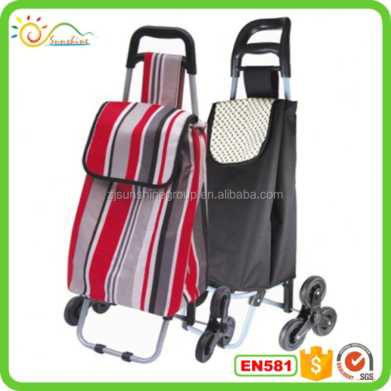 Hand luggage carts climb stairs used folding luggage cart handle