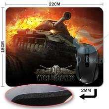 2015 new World of tanks mouse pad Hot sales mousepad laptop mouse pad razer notbook computer gaming mouse pad gamer play mats