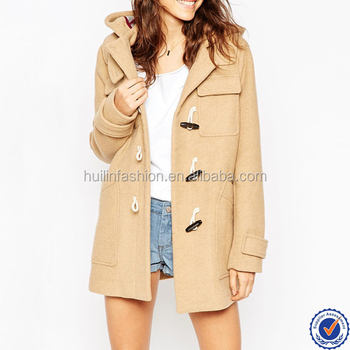 European Fashion Winter Wool Coats Ladies Classical Double ...