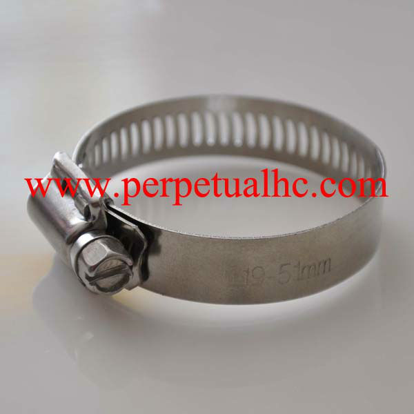 Stainless Steel America Style Hose Clamp