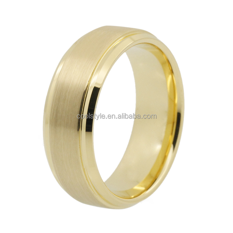 Gold ring designs for men and women tungsten carbide wedding bands