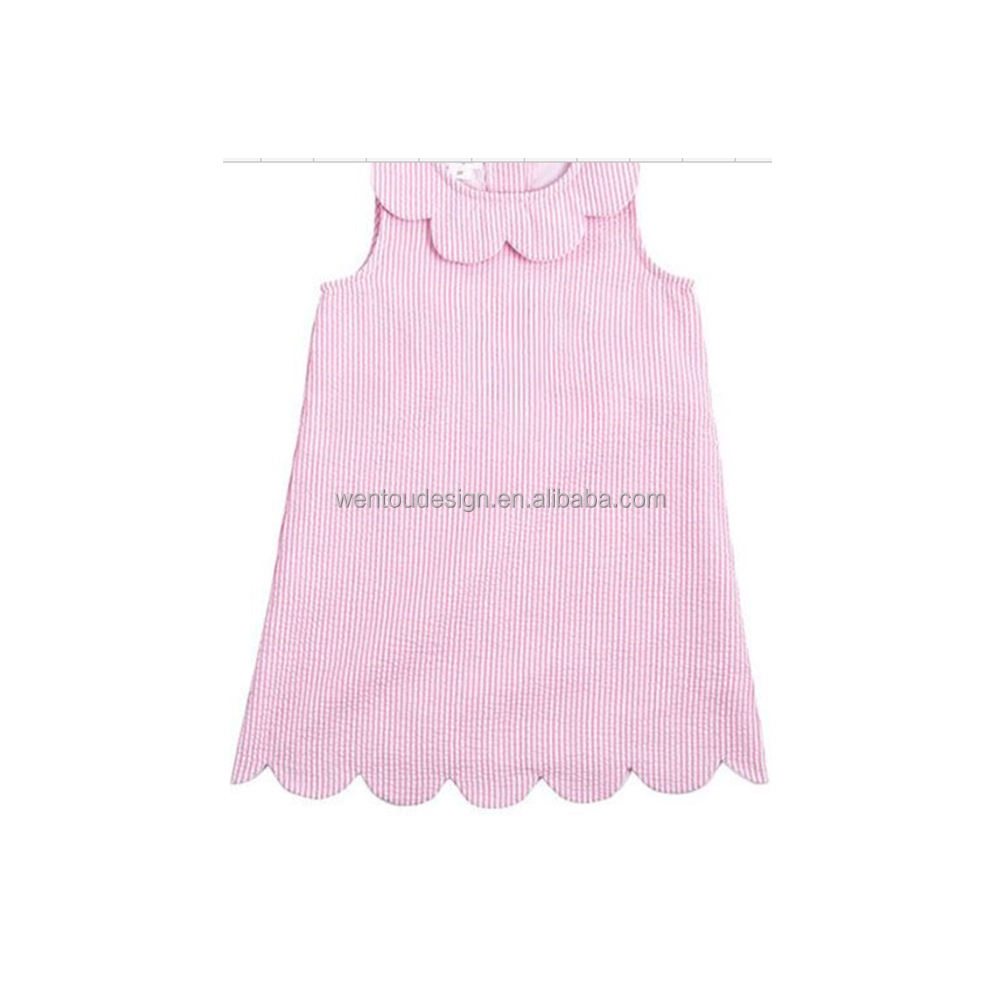 Hot Sale New Design Seersucker Children Skirt