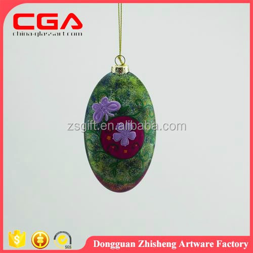 Dongguan christmas tree hanging glass baubles fashion baubles