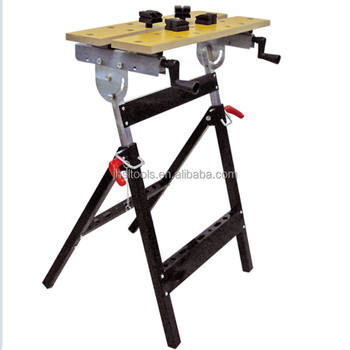 Outstanding Adjustable Height Bench Mdf Board Foldable Work Bench And Vice Portable Sawhorse With Quick Clamp 220Lb 0 90 Degree Flip Angle Buy Multi Purpose Lamtechconsult Wood Chair Design Ideas Lamtechconsultcom