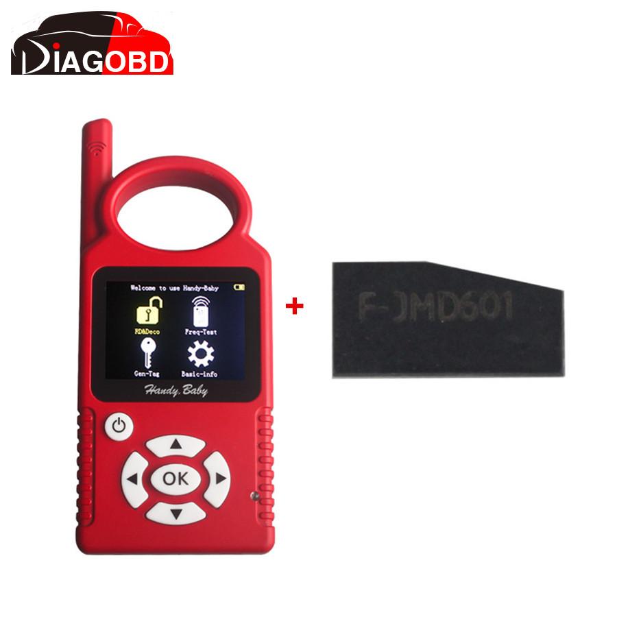 Удобный ребенка ручной ручной копия автоматический ключевой программер для 4D / 46 / 48 чипов плюс 5 шт. ID46 чип для CBAY