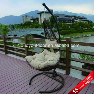 Patio Promotion Egg Shaped Wicker Chairs Cheap Hanging Chairs Garden Indoor Metal Cheap Reclining Outdoor Swing Chair