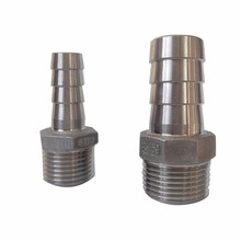 alli baba hot sale Stainless Steel 316 304 Hose Nipple fittings pipe