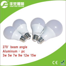 new product alibaba china 3w 5w 7w 9w 12w smd led bulbs e27 b22 led bulbs wholesale dimmable led bulb