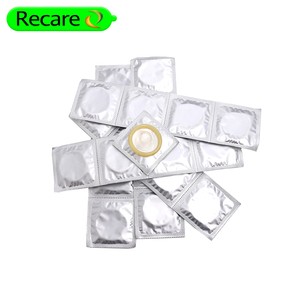customized aluminum foil packaging bulk packing price condom
