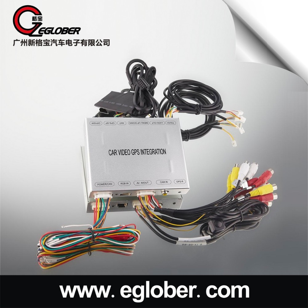 For opel insignia car gps navigation system video interface